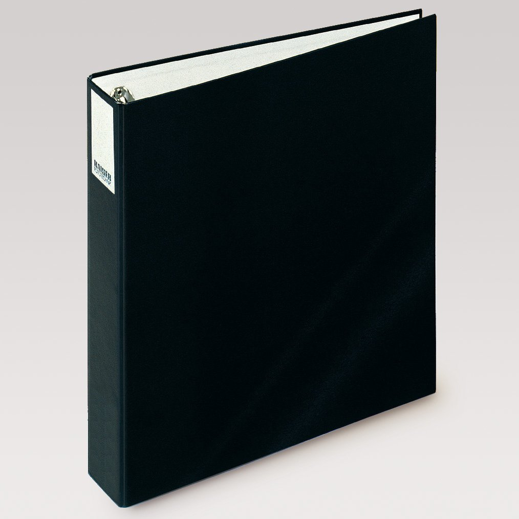 Kaiser KA2500 - Á lbum (Hojas Negativos, Diapositivas con Anillas, 30 cm x 32 cm, 6 cm), Negro