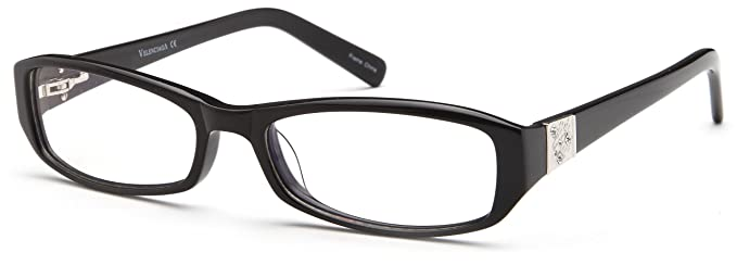 womens square black glasses frames prescription eyeglasses size 54 17 137