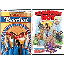 Grandma's Boy (Unrated Edition) + Beerfest Comedy DVD Set 2 Movies