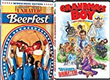 DVD : Grandma's Boy (Unrated Edition) + Beerfest Comedy DVD Set 2 Movies