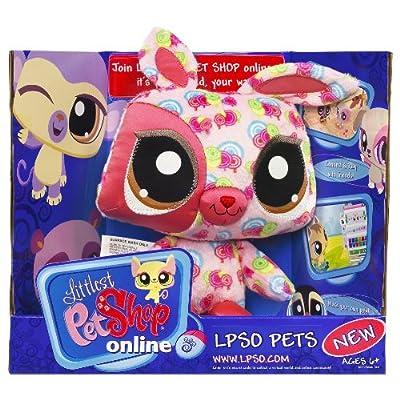 Littlest Pet Shop LPSO Virtual Pets - Bunny: Toys & Games