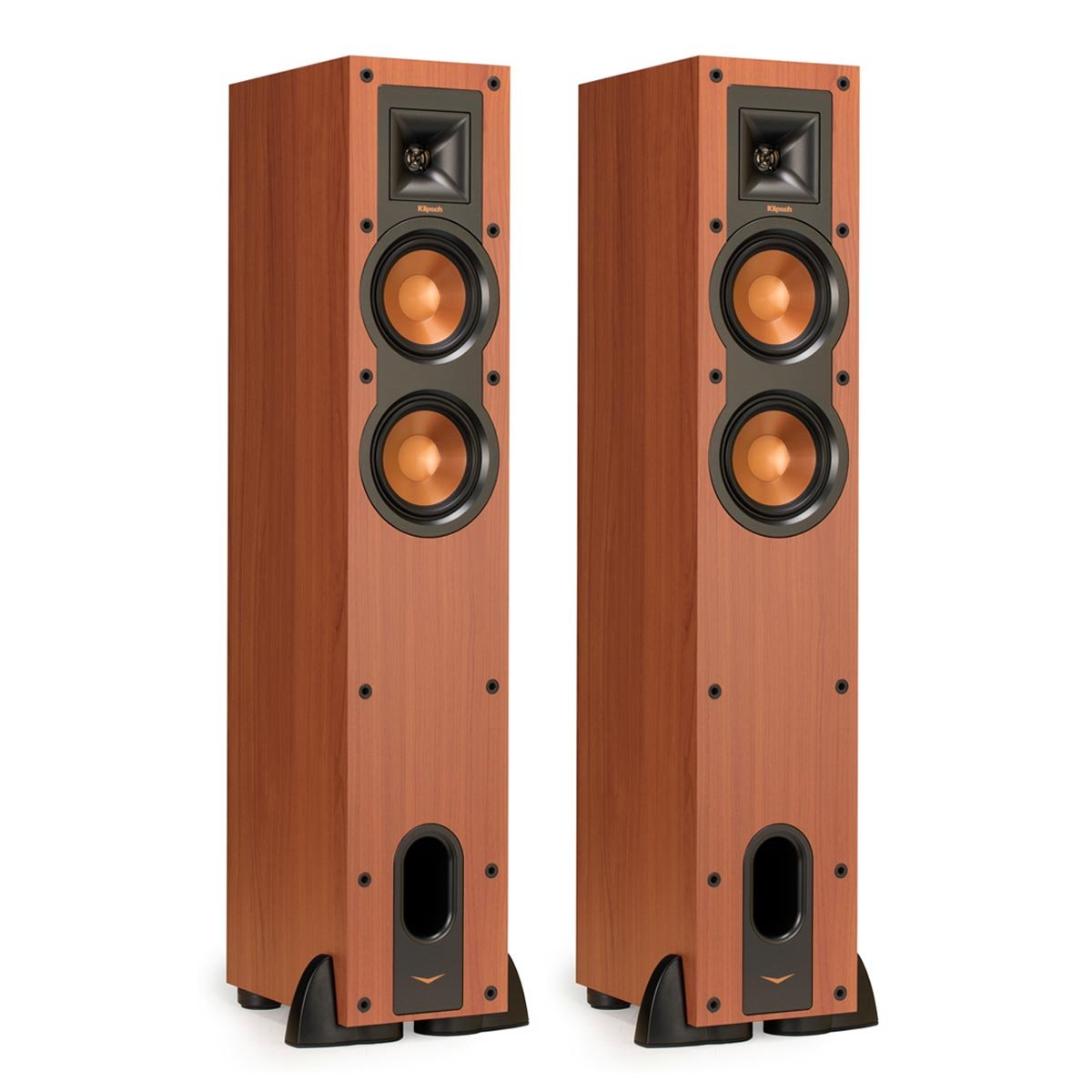 Klipsch R-24F Reference Floorstanding Speakers - Pair (Cherry) by Klipsch