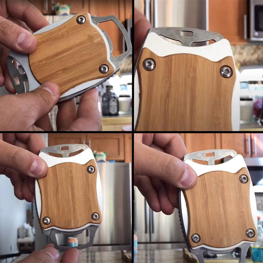 A Go Swing Topless Can Opener Bar Tool Safety Easy Manual Can Opener Professional Effortless Openers Household Kitchen Tool No Sharp Edge