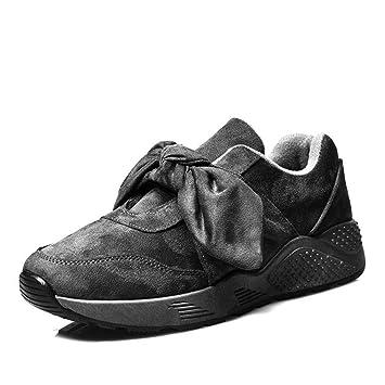 YSFU Zapatillas Zapatillas De Deporte De Las Mujeres Zapatos Planos Ocasionales De Las Mujeres Zapatillas De