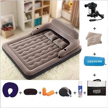 PENG Cama inflable cama inflable colchones cama doble con pillow-top ropa de cama: Amazon.es: Hogar
