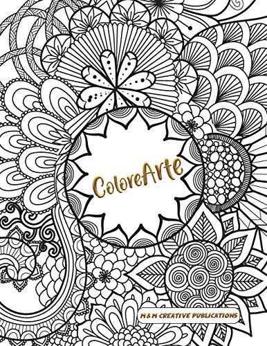 Libro : Colorearte Libro De Adultos Para Colorear, Mandalas,