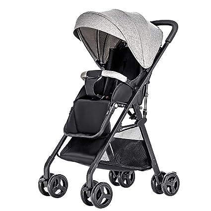 GAOJI Cochecitos para bebés, carritos pequeños, carritos ...