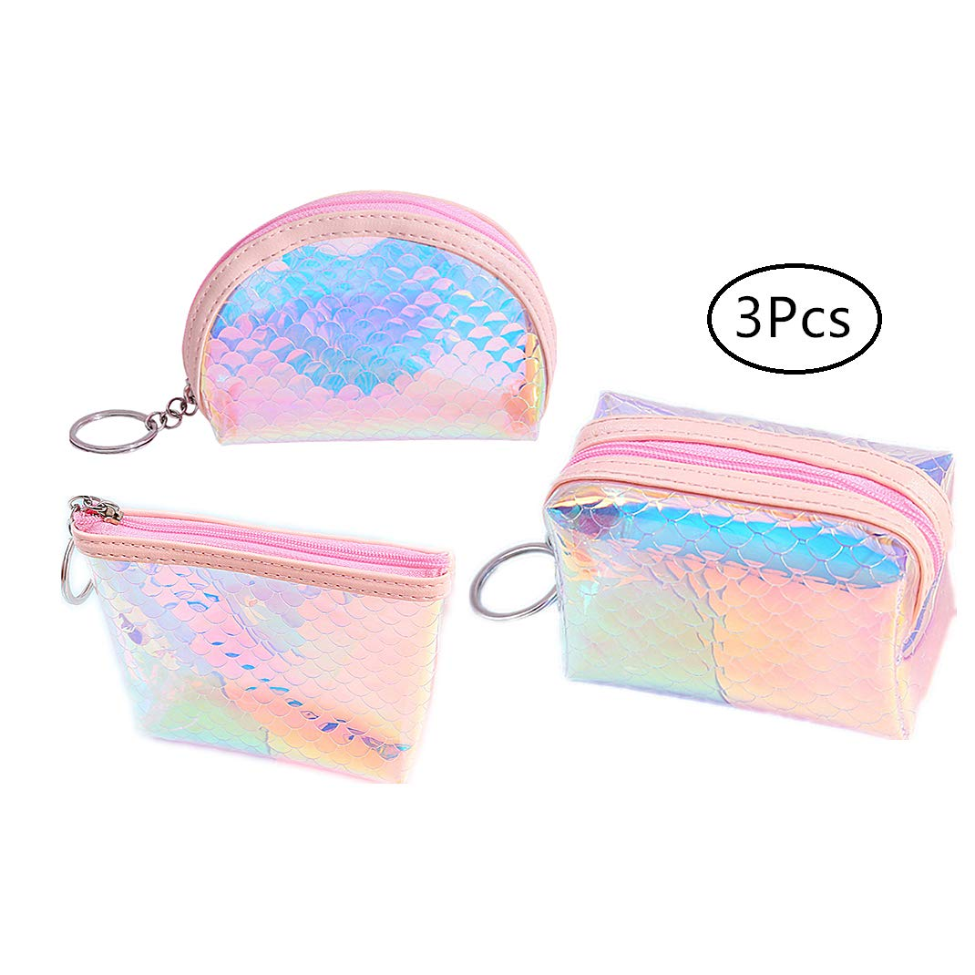 Amazon.com: TENDYCOCO Coin Purse Holographic Coin Pouch ...