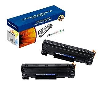 Amazon.com: 2 cartuchos de tóner compatibles Canon 137 para ...