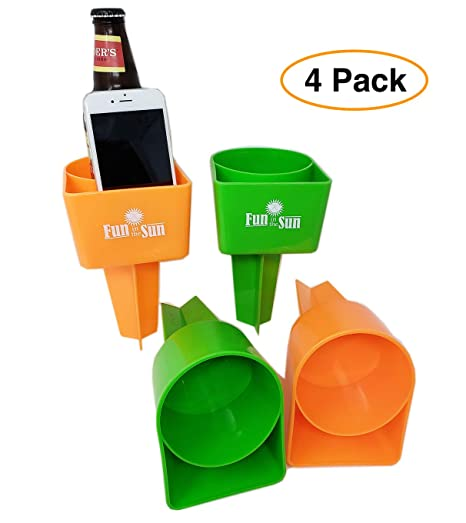 Amazoncom Sand Beach Cup Drink Cell Phone Holdercoaster