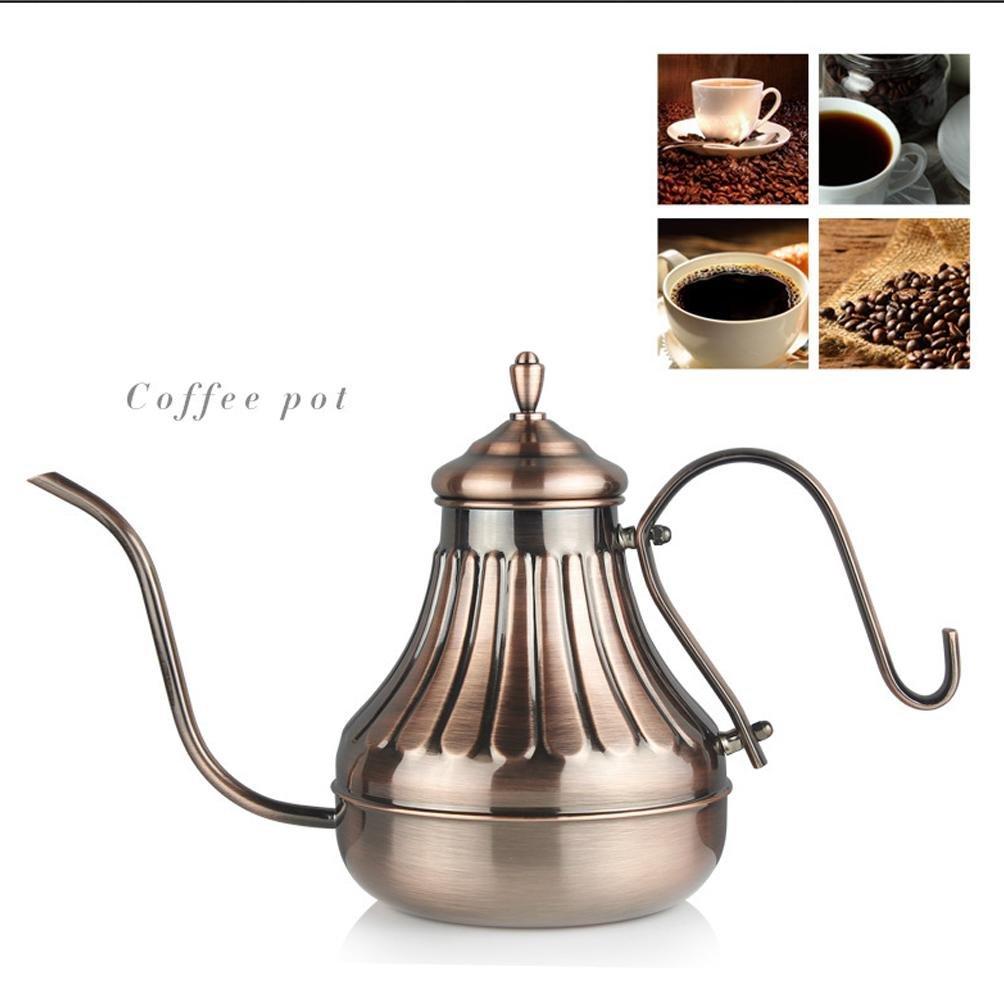 XUEXIN Bronze Court hands coffee pot coffee small mouth pot