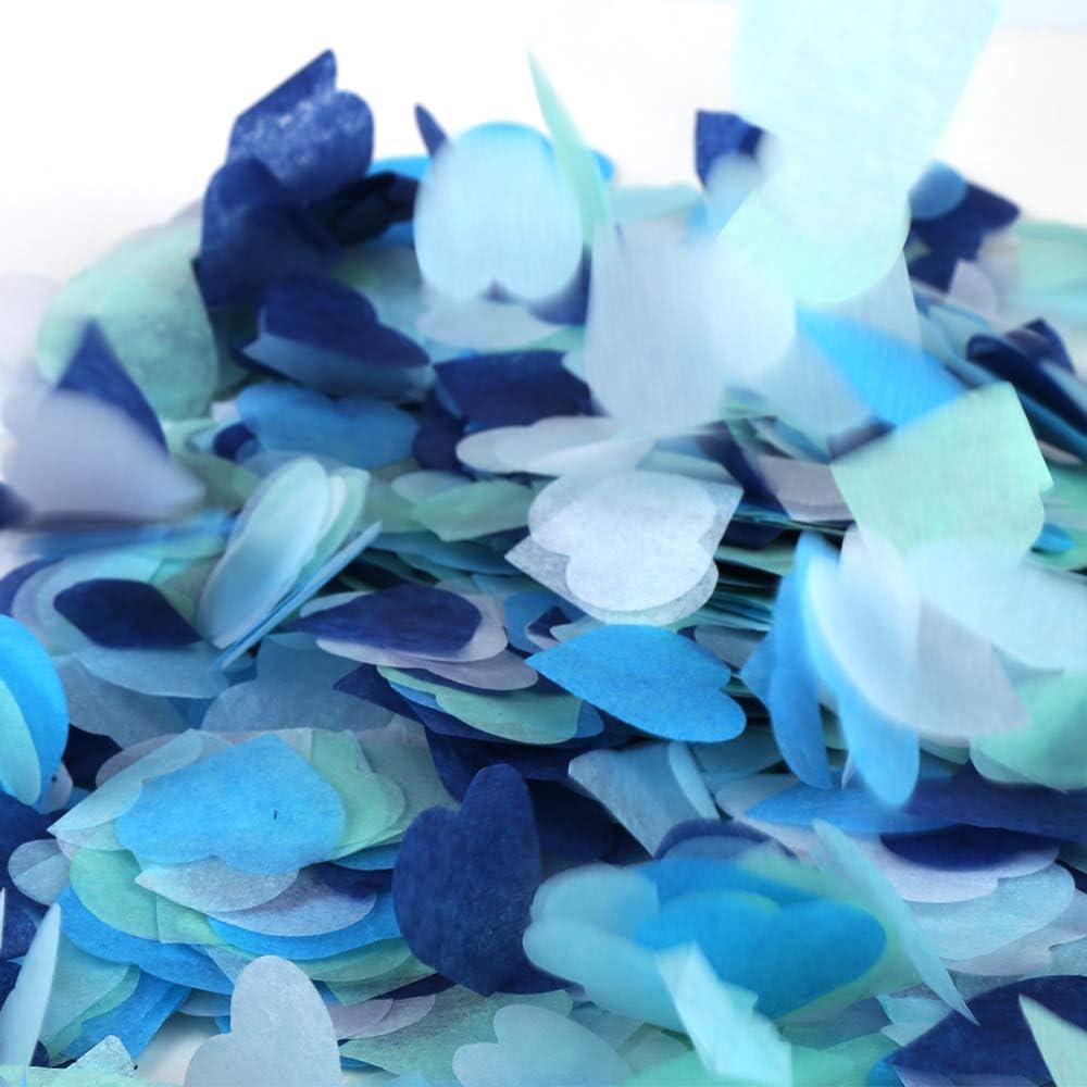 Cumplea/ños Baby Shower Vegena 6000 Piezas de Confeti de Coraz/ón 25mm Confeti Boda Papel de Coraz/ón Party Circle Paper Table Confetti Confeti de Mesa para Decoraci/ón de Fiesta,Boda