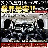 【安心の抵抗付】 アウディ 8PC A3(2代目) [H20.9~H25.9] LED ルームランプ 6点セット 室内灯 SMD 採用 警告灯 キャンセラー内蔵 輸入車 外車 欧州車 車種別セット