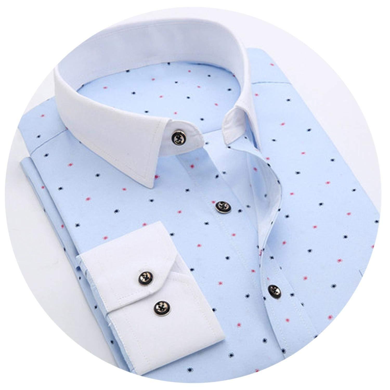 c7781ef4 Amazon.com: 2018 Retro Floral Printed Men Casual Shirts Classic Men Dress  Shirt: Clothing