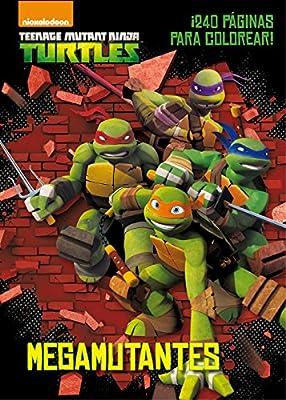 Las Tortugas Ninja. Mega mutantes: VV.AA.: 9788408144908 ...