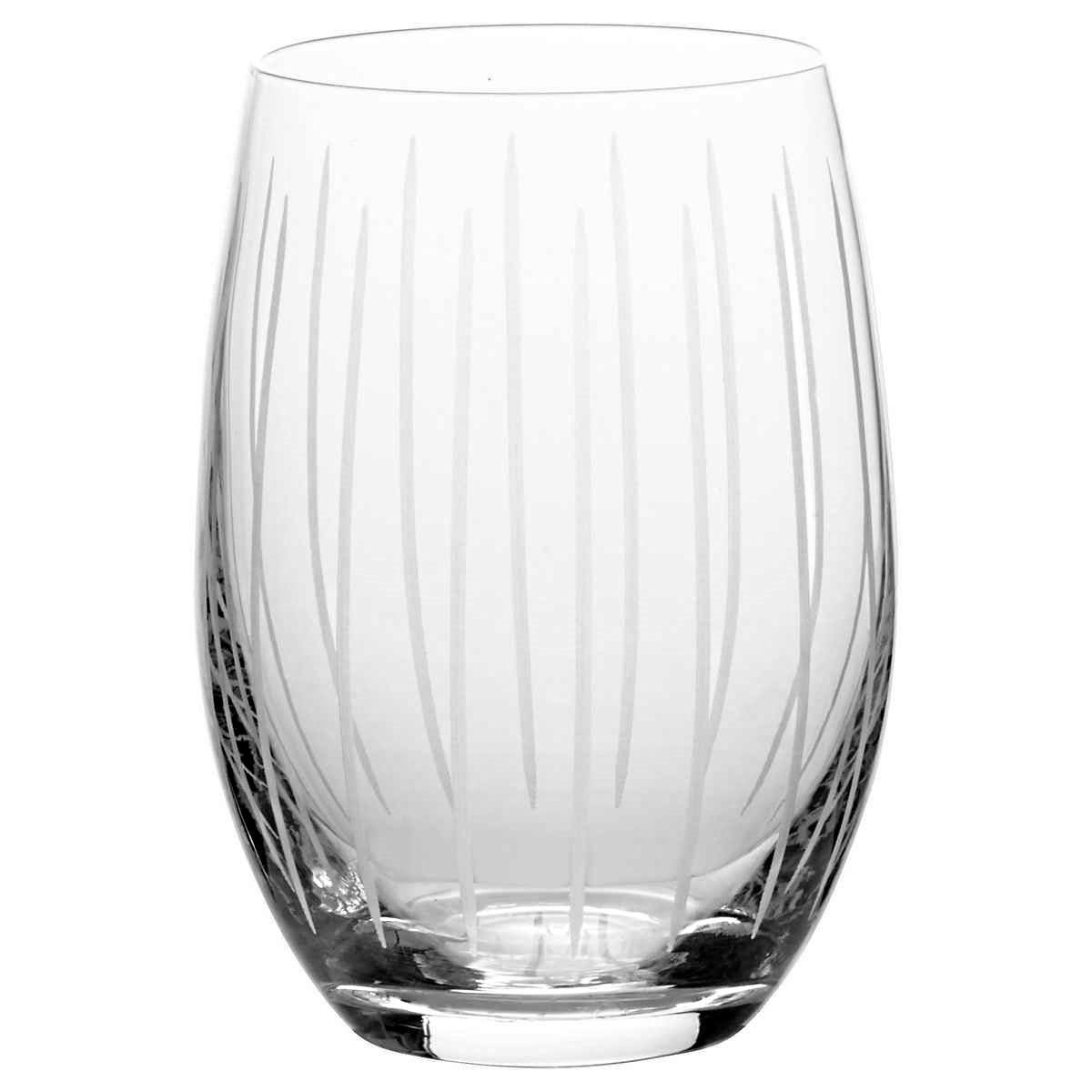 Mikasa Cheers Stemless Etched Wine Glasses, Fine European Lead-Free Crystal, 17-Ounces for Red or White Wine - Set of 6 by Mikasa (Image #7)