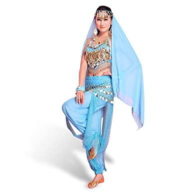 29a780608 CoastaCloud Women Belly Dance Costume