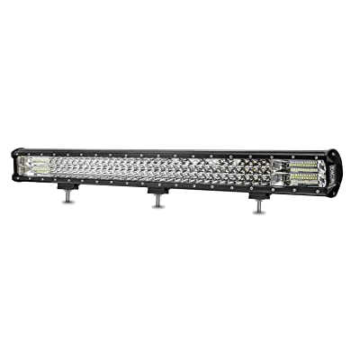 BEAMCORN 31 Inch Led Light Bar 432W 43200Lm Led Bar Off Road Light Bar Triple Row Combo Flood Spot Driving Light for Trucks Tractor Jeep ATU UTE UTV SUV Pickup RZR Polaris: Automotive