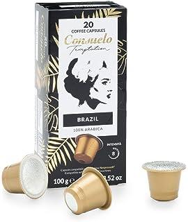 Saimaza Café Fuerte Espresso 9 - 200 cápsulas de aluminio ...