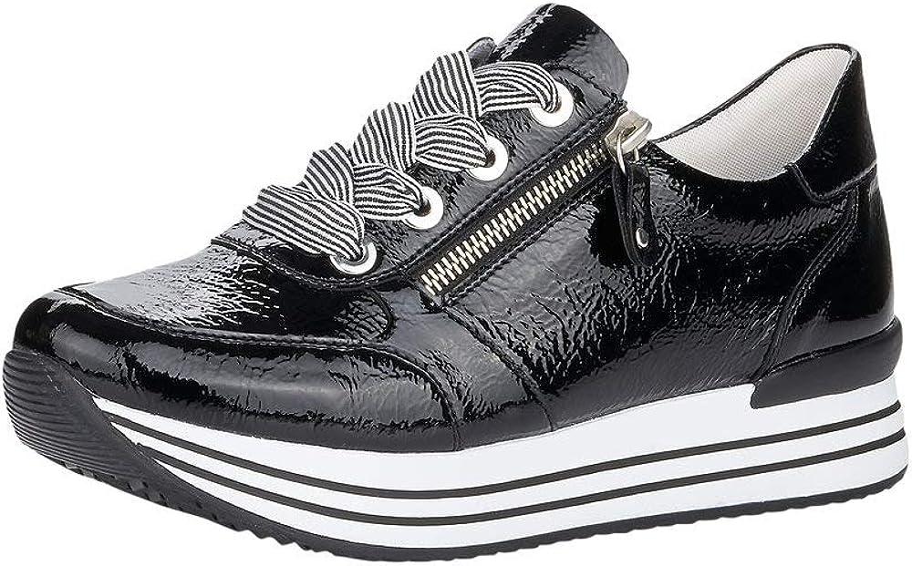 Remonte Mujer Zapatos de Cordones D1302, señora Calzado Deportivo