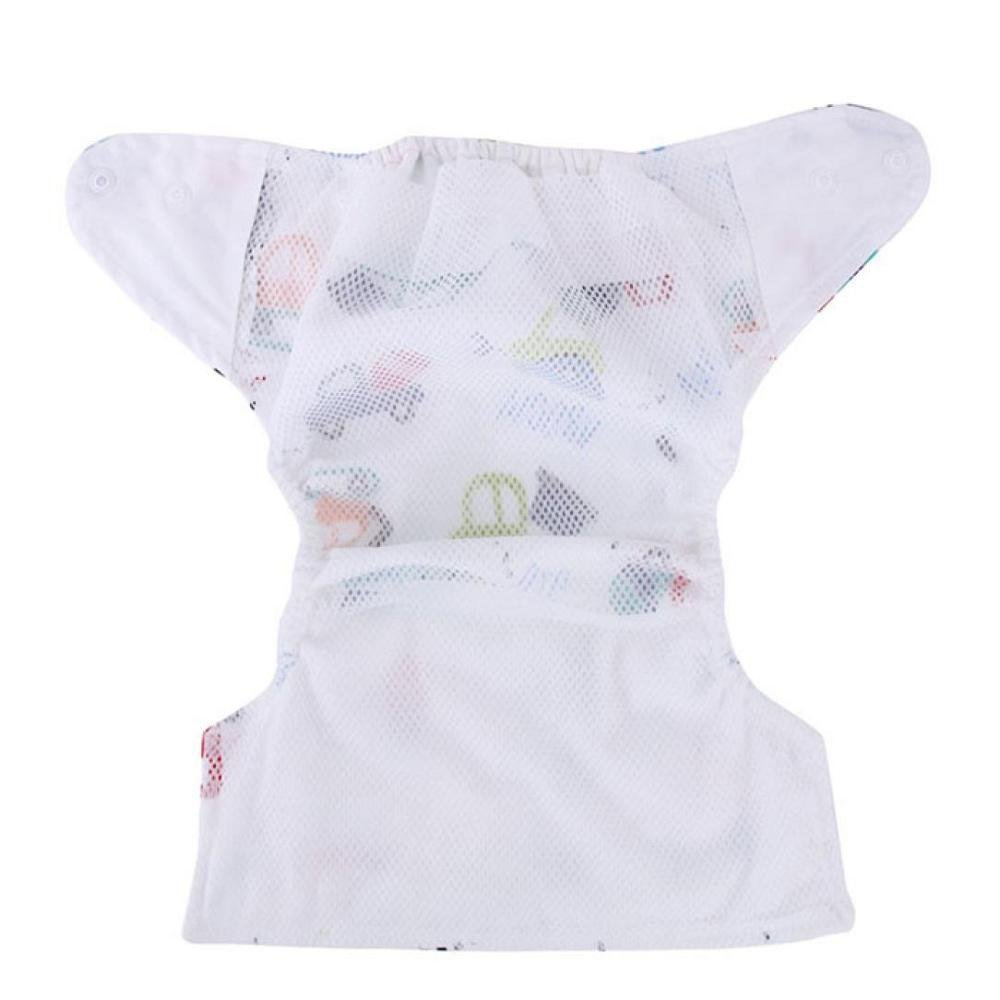 FTXJ Newborn Baby Summer Cute Cloth Diaper Cover Adjustable Reusable Nappy (G) by FTXJ (Image #4)