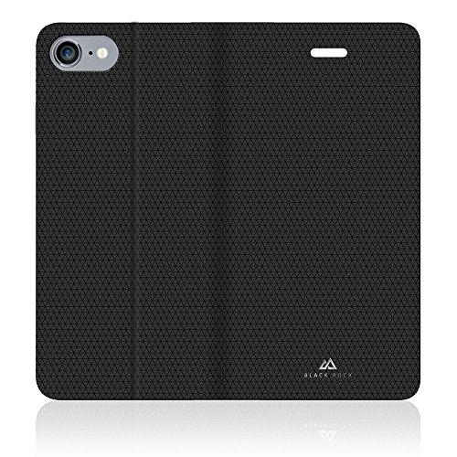 Black Rock 1027MPU02 Pure Booklet Schutzhulle fur Apple iPhone 7/6s/6 schwarz
