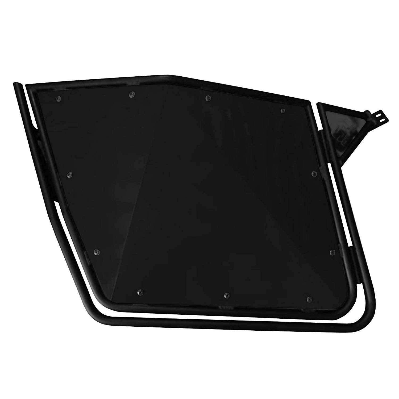 5351 50 Caliber Racing RZR Doors with Slam Latches Black Aluminum Panels on Black Frame RZR 570 800 XP900