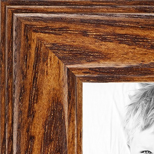 ArtToFrames 12x18 inch Honey Oak Wood Picture Frame, WOM01336-150-12x18 (Oak Reclaimed Table Top)