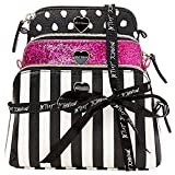 Betsey Johnson 3PC Holiday Giving Cosmetic Set (Stripe)