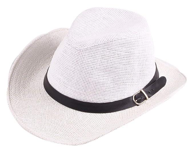 Sombrero De Vaquero De Paja Al Aire Libre Sombrero De Al Caballero Aire  Especial Estilo Libre 999dcfbf38b