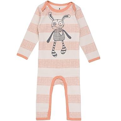 9a71270a7179c Small Rags Pyjama Dors-Bien à Rayures 100% Coton - 60090 20-20 - Bébé Mixte  - 68 (6 Mois) Beige Abricot  Amazon.fr  Vêtements et accessoires