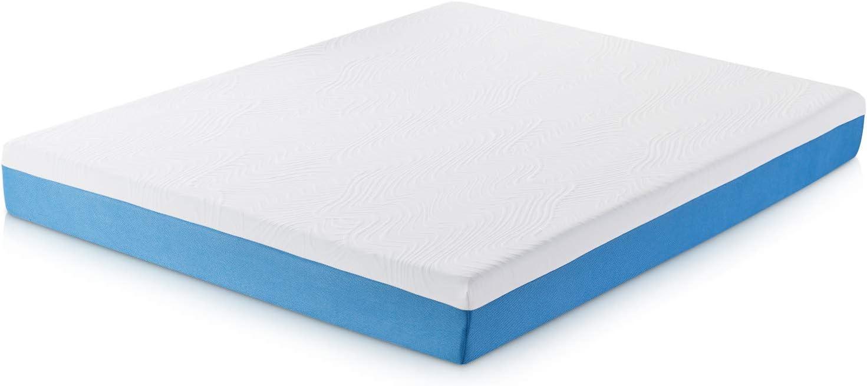 SYNWELLSLEEP Synwell Sleep Cool and Firm Gel Infused Ergonomic Memory Foam Mattress, 8 Inch, Twin, CertiPUR-US Certified