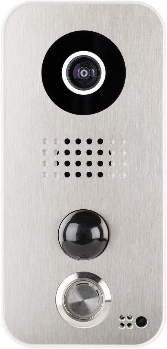 Faceplate F101 for DoorBird Video Door Station D10x Series, Stainless-Steel Edition