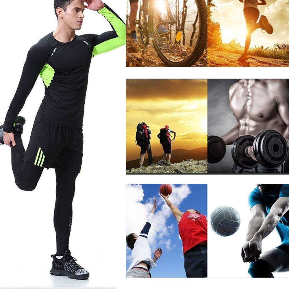 821c1e6f5f2c80 ChenYongPing Herren-Fitness-Bekleidungs-Set 3 Stücke Mens Fitness Gym  Kleidung Set Sportbekleidung Übung Kleidung Männer Activewear Für Workout  Training ...