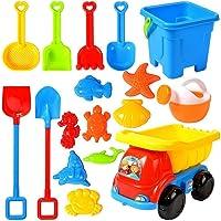 hgni Zomer Beach Toy Sand Set Kids Beach Toys Set met Emmer Watering Can Strand Schoppen en Mallen Voor Kinderen Baby