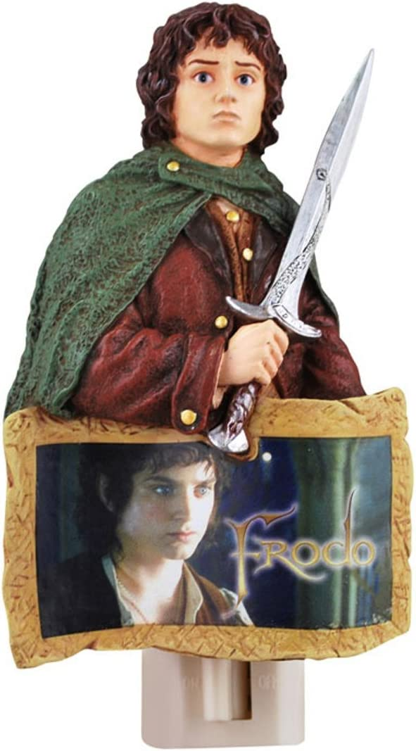 Westland Giftware Nightlight Lord of The Rings Frodo 4.25-Inch Tall
