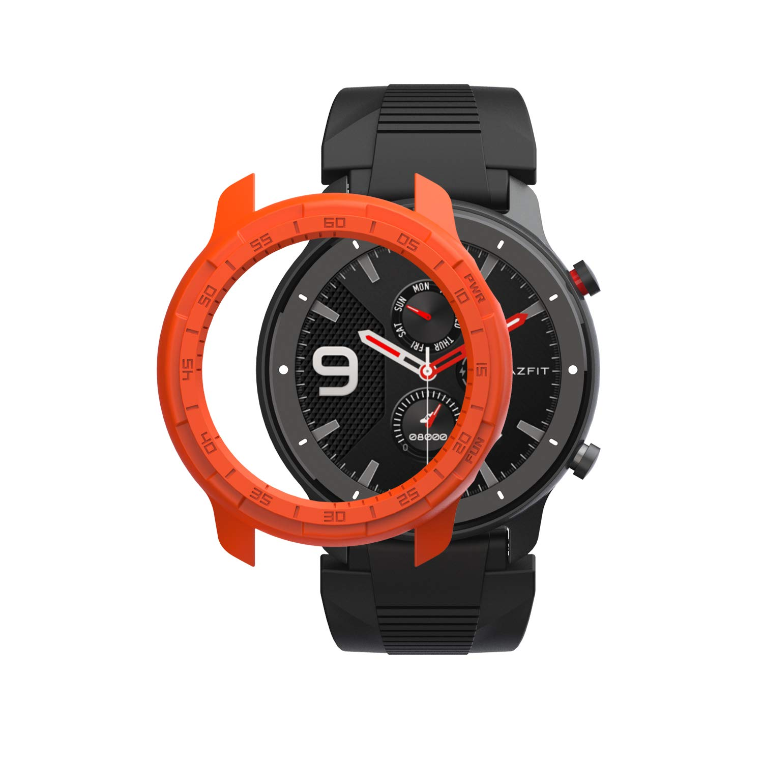 Amazon.com: SIKAI Protective Case Cover for Amazfit GTR 47mm ...