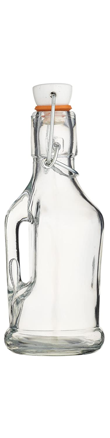 KitchenCraft Home Made Glass 210ml Bottle with Handle Kitchen Craft KCHMBOT4