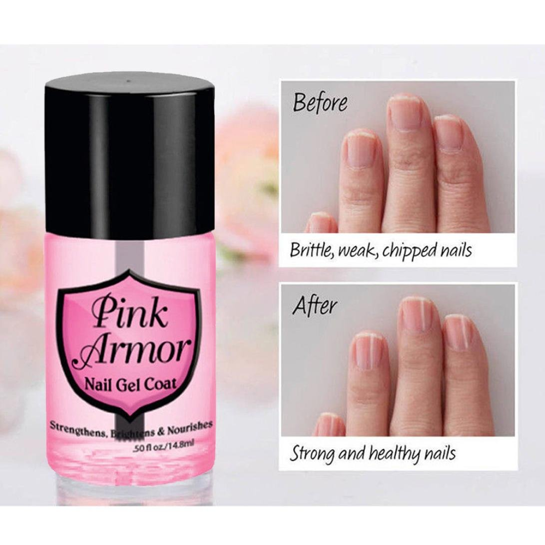 Amazon.com : Nail Base Coat Gel for Girls, Iuhan Dry Fast Top Coat Pink Nail Nutrition Gel Polish Remedy Fix Protective Layer Keratin Gel Base Coat ...