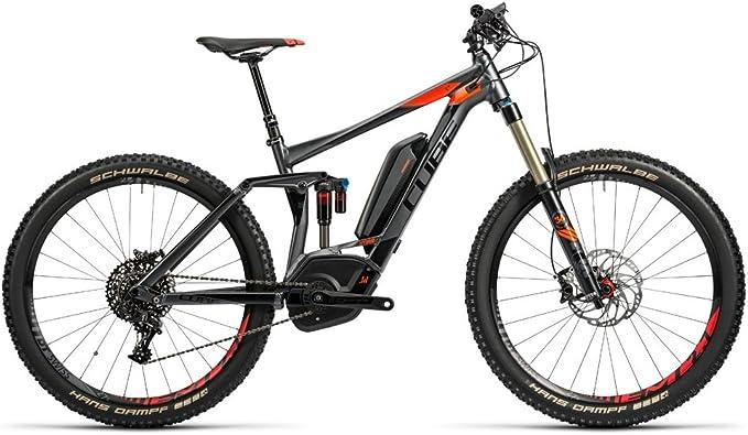 Bicicleta eléctrica CUBE Stereo Hybrid HPA 160 500 SL 27,5 2016-18 ...