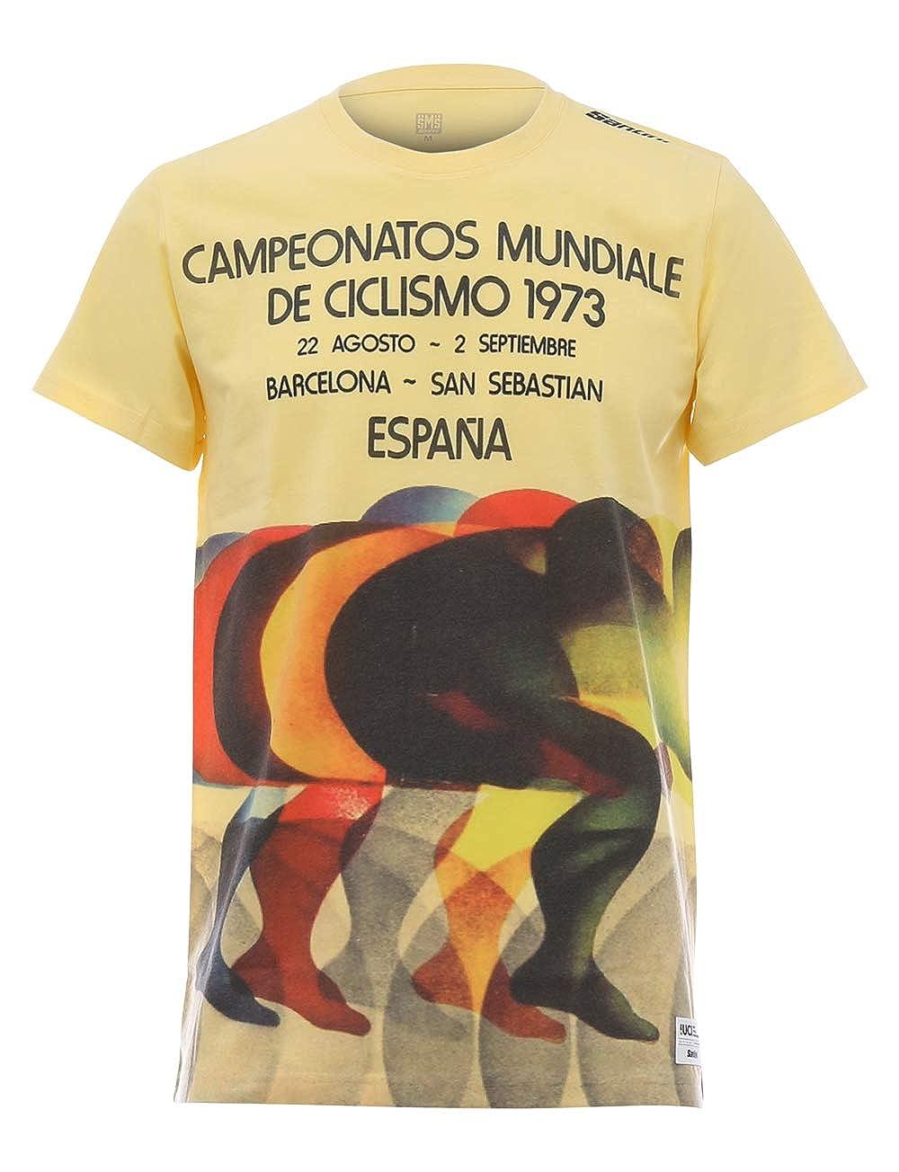 T-Shirt Unisex Adulto Santini UCI Rainbow Story