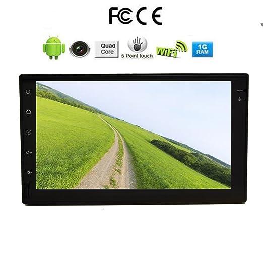 2 opinioni per ?7 POLLICI autoradio schermo HD / radio Android 4.4 sistema 2 DIN headunite,