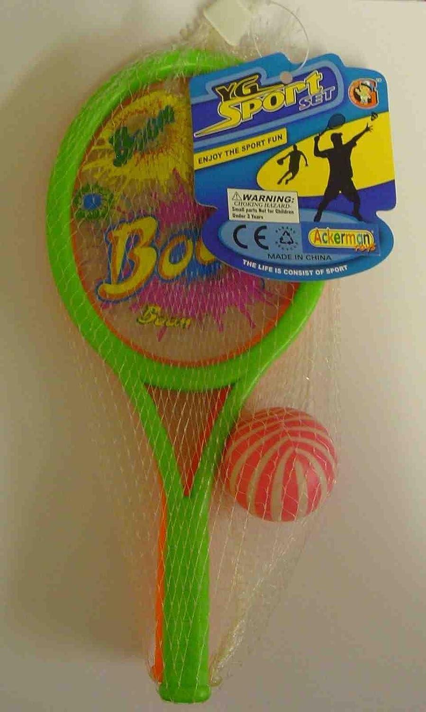 Amazon.com: Conjunto de 2 mini Boom Bat & Mini Raqueta de ...