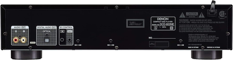 Amazon.com: Denon PMA-600NE amplificador estéreo integrado ...