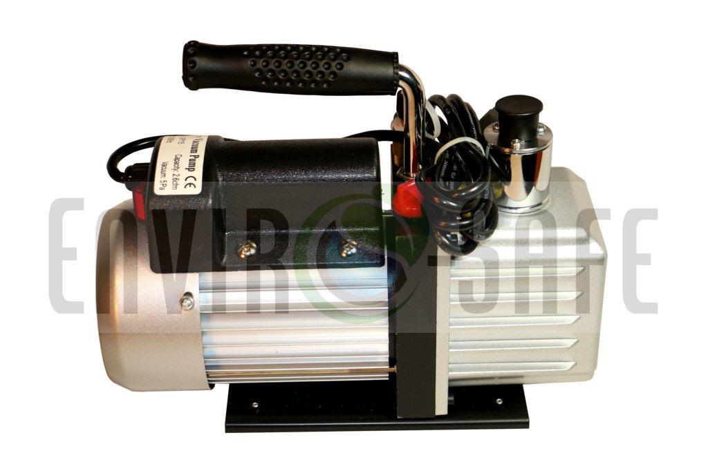 Enviro-Safe 2.6 Vacuum Pump, Brass Manifold, Can Tap Combo