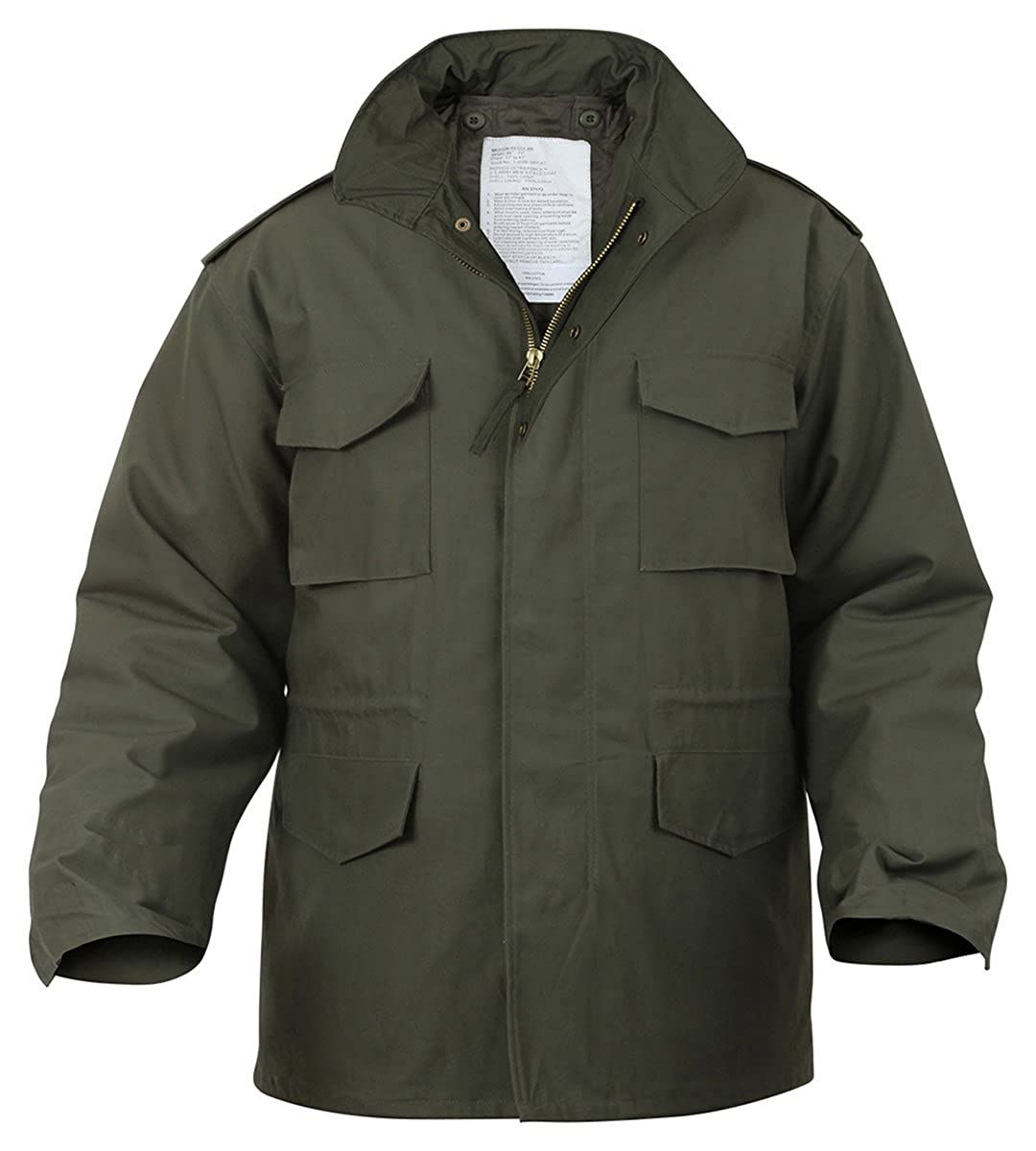 Amazon.com  Ultra Force Olive Drab M-65 Field Jacket-LARGE  Military Coats  And Jackets  Clothing 2874f5306e5