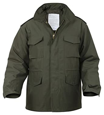 Amazon.com  Ultra Force Olive Drab M-65 Field Jacket-LARGE  Military ... f21b872d206