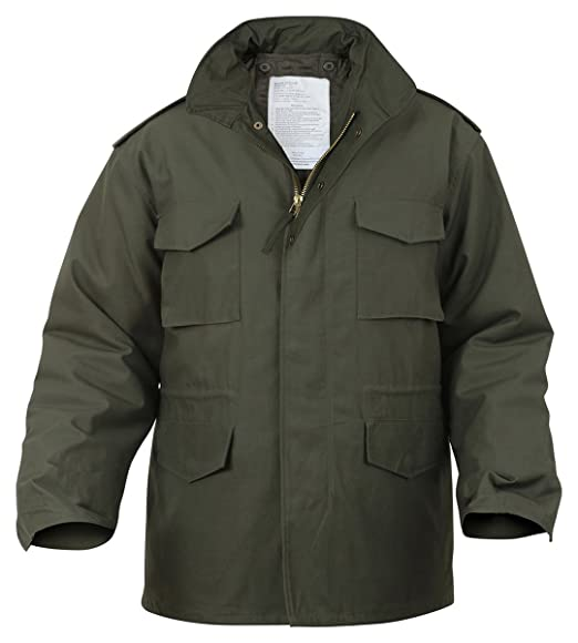 Rothco Ultra Force M-65 Field Jacket Olive Drab, Large