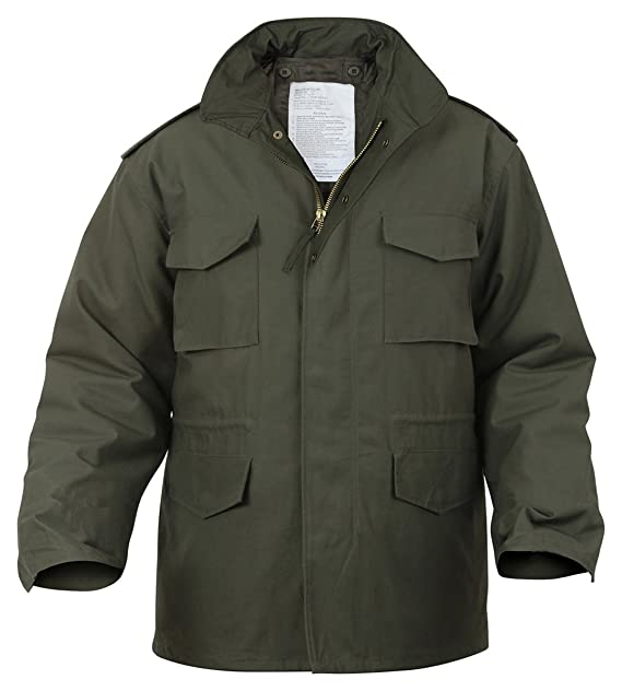 Amazon.com  Ultra Force Olive Drab M-65 Field Jacket-LARGE  Military ... 6bbe17f376