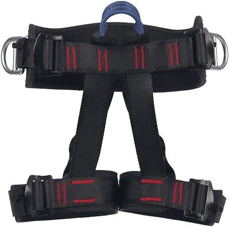 WHAOZ Arnés de Escalada,Medio Cuerpo,Cinturón de Seguridad de ...